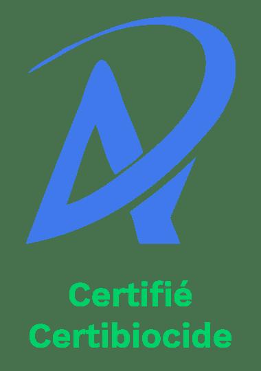 Alternative 4D est certifié Certibiocide
